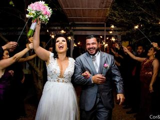 O casamento de Joyce e Pedro