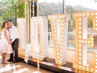 O casamento de Leonnardo e Vivian