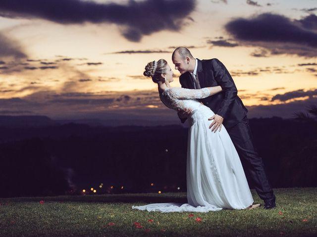 O casamento de Daniele e Celso