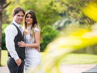 O casamento de Áurea e Bruno