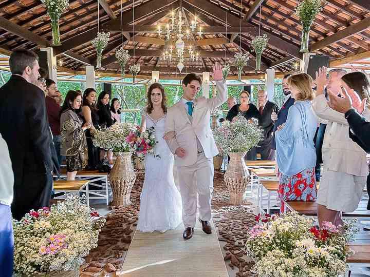O casamento de Jéssica e Caueh