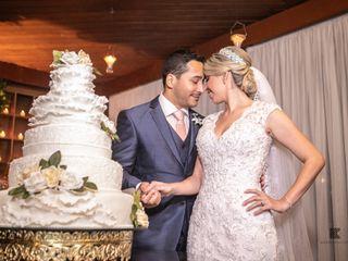 O casamento de Caroline e Marcel