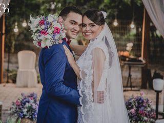 O casamento de Thalia e Allison