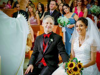O casamento de Viviane e Adilson