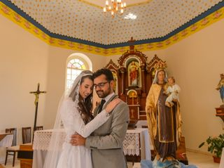 O casamento de Carol Cristine  e Lucas Felix