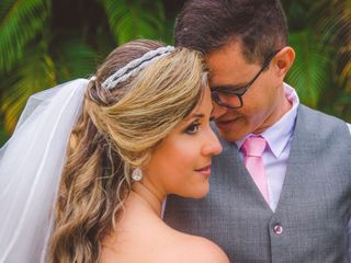 O casamento de Cristiane e Roger