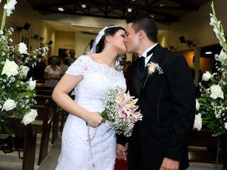 O casamento de Adriana e Gledson