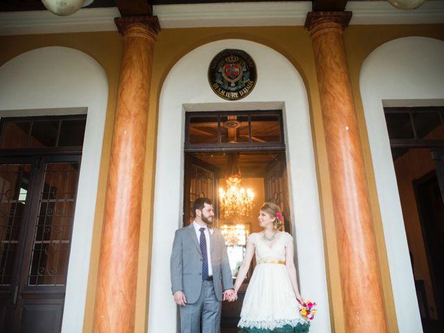 O casamento de Simone e Leandro