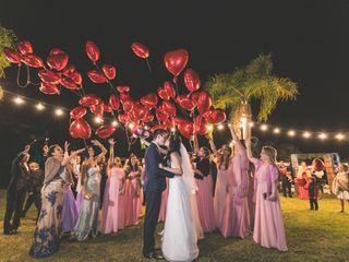 O casamento de Carla e Alexandre