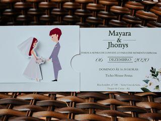 O casamento de Mayara e Jhony 1