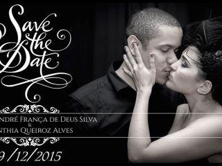 O casamento de Cynthia Queiroz e André