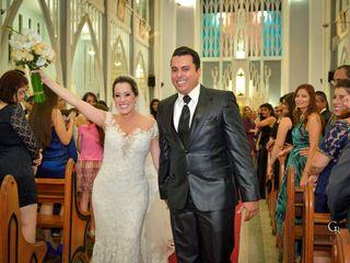 O casamento de Giselle e André