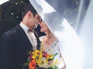 O casamento de Valesca e Clevis