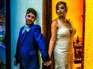 O casamento de Anna e Rafa