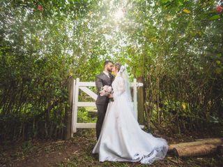 O casamento de Caroline e Lucas