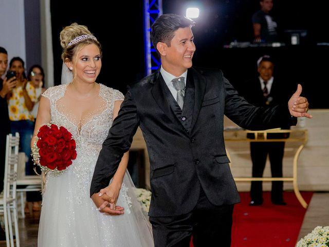 O casamento de Gislaine e Weslley