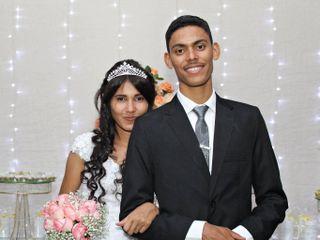 O casamento de Aline  e Abner