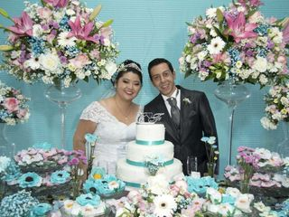 O casamento de Cintia e Fernando