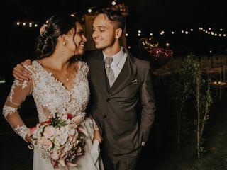 O casamento de Laleska e Cris