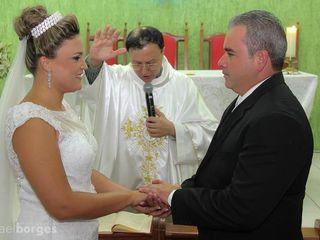 O casamento de Regiane e Marcelo