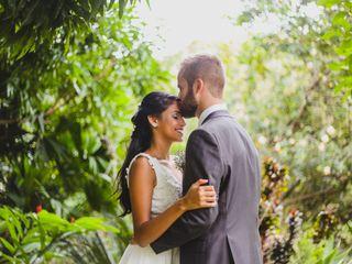 O casamento de Giselle e Petter