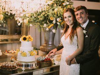 O casamento de Monique e Guilherme
