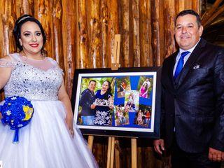 O casamento de Tatiane e Vilmar