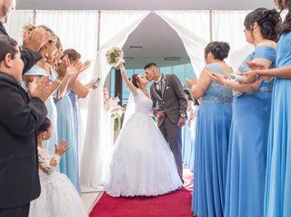 O casamento de Aline e Wellington