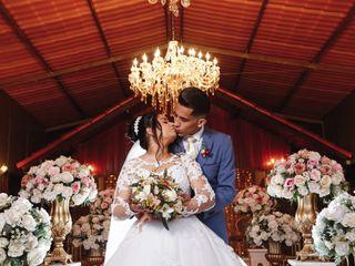 O casamento de Denise e Lucas