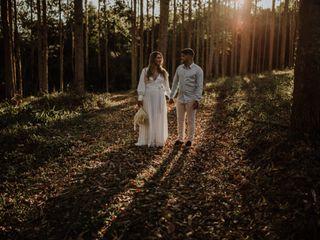 O casamento de Louise e Vinicius