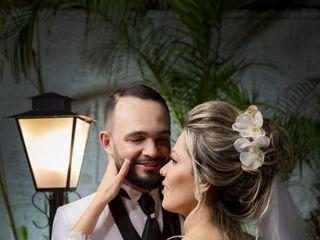 O casamento de Ênio e Gislaine