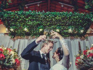 O casamento de Marília e Per