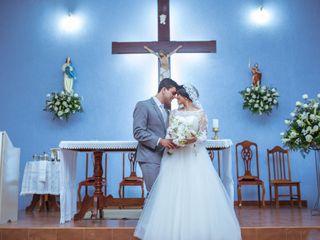 O casamento de Denise e Cledilson
