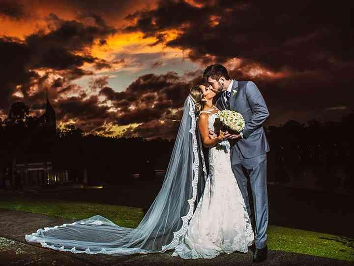 O casamento de Sheila e Erico