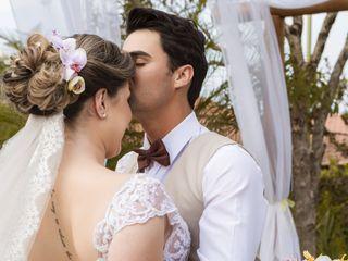 O casamento de Bia e Bruno