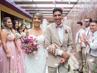 O casamento de Carla e Guilherme