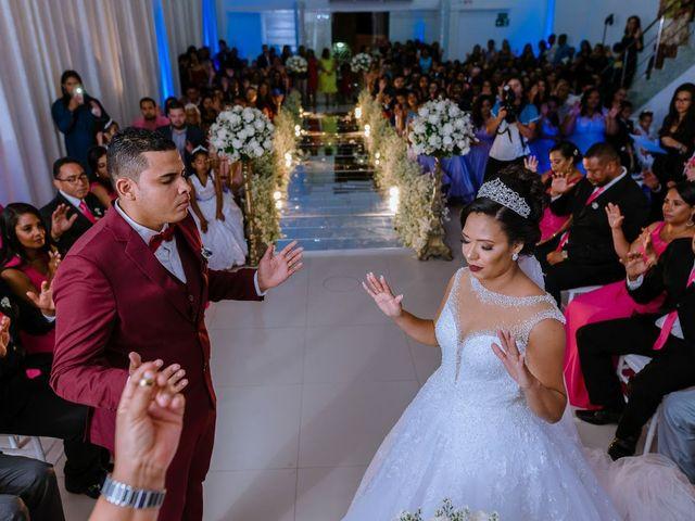 O casamento de Leandro e Amanda em Camaçari, Bahia 1