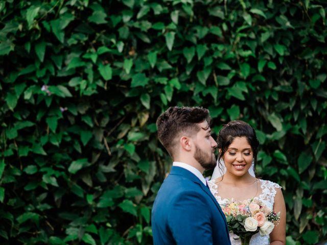 O casamento de Rachel e Vibner