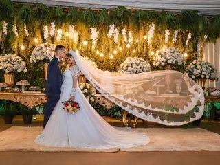 O casamento de Jaquelaine  e Fernando