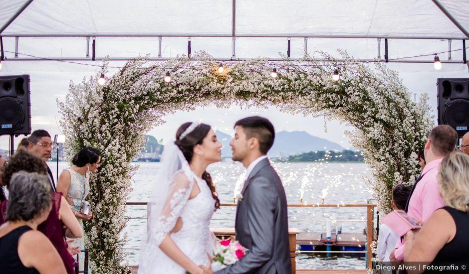 O casamento de Carlos e Gabrielle em Niterói, Rio de Janeiro