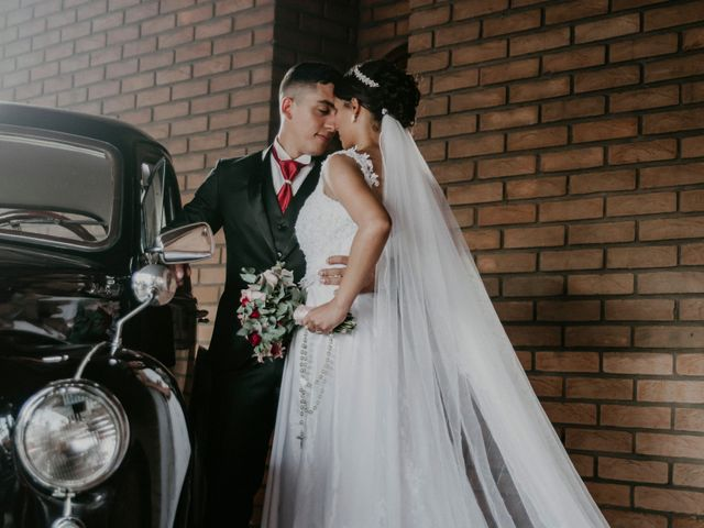 O casamento de Fabiola e Fabiano