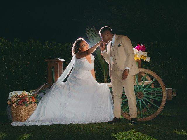 O casamento de Andreza e Wardeson