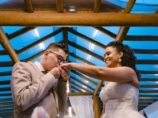 O casamento de Isaías e Samantha