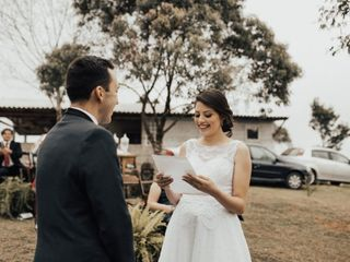 O casamento de Louyse e Guilherme
