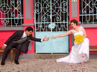 O casamento de Camila e Jonas