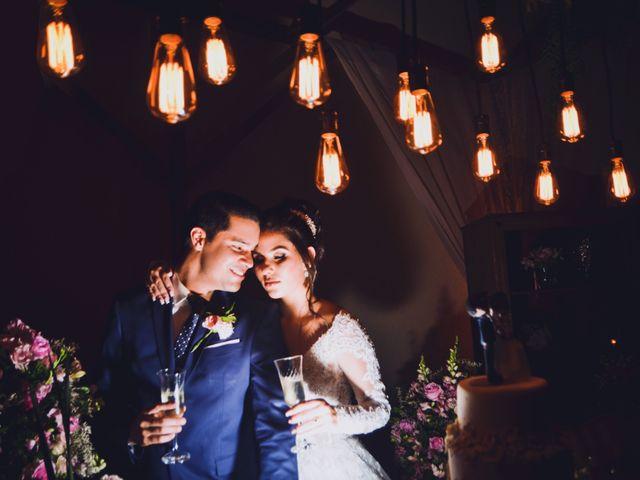 O casamento de Joana e Anderson