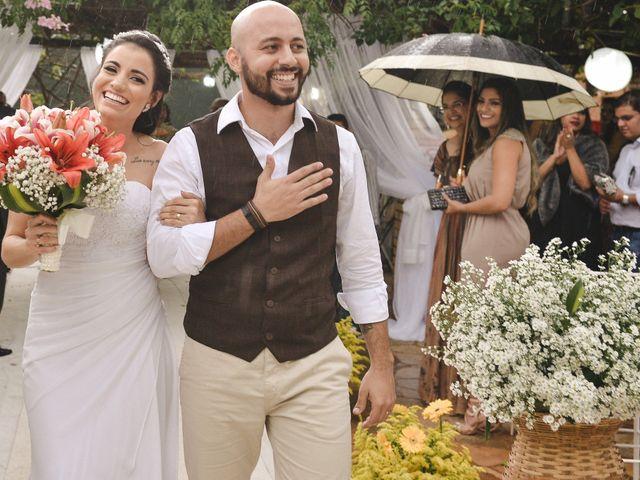 O casamento de Letícia e Rogério