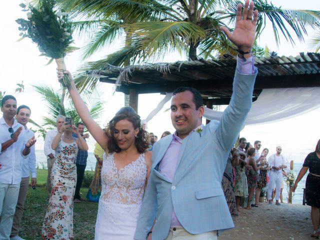 O casamento de Miriam e Guilherme