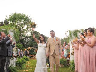 O casamento de Erica e Vanderley