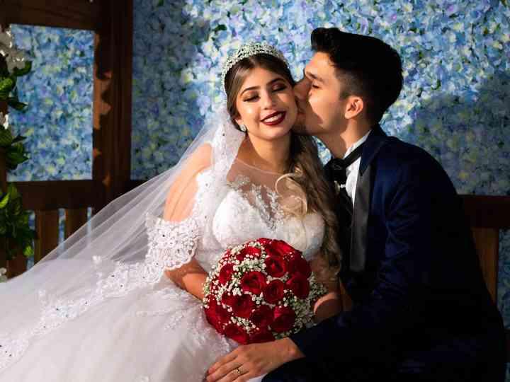 O casamento de Jennifer e Axel